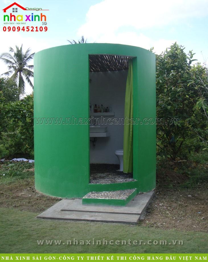 toilet nha ve sinh wc biet thu dep, noi that nha xinh