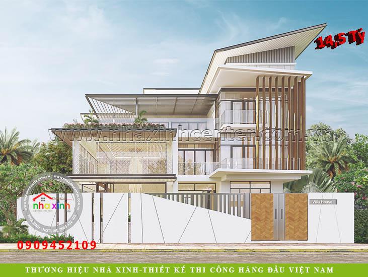thiết kế nhà đẹp biệt thự hiện đại singapore
