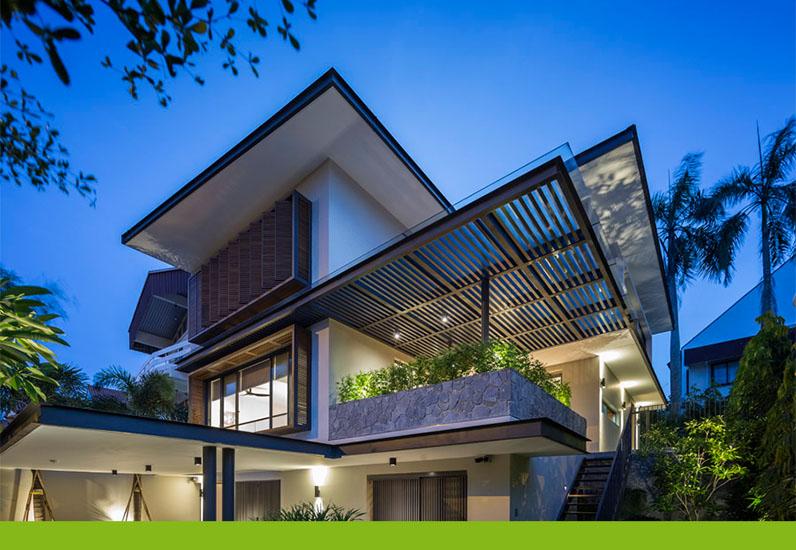 Biệt Thự Vườn Đẹp Có Phong Cách Hiện Đại | BT157