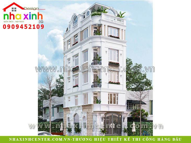 Nhà Phố Biệt Thự Tân Cổ Điển Đẹp Chị Trang