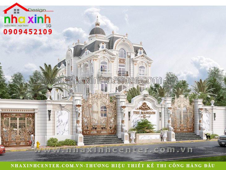 1000 mẫu thiết kế dinh thự đẹp 2021