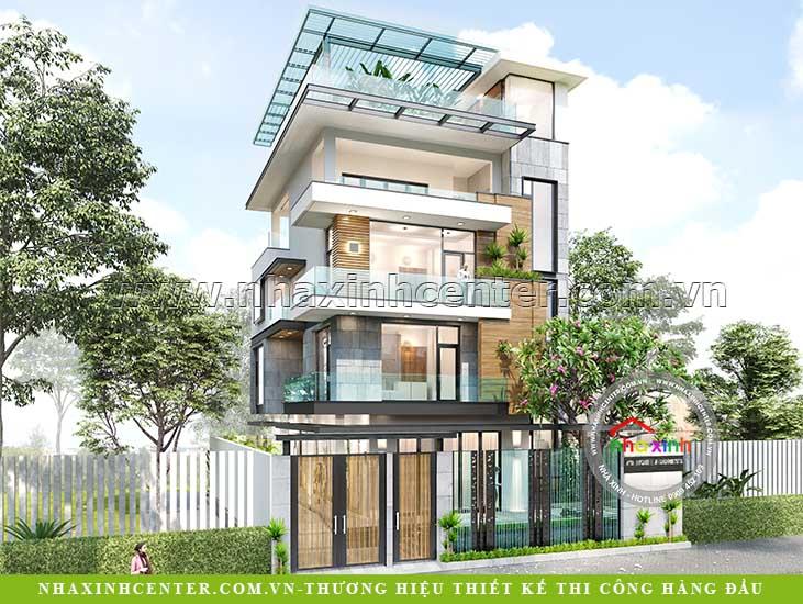 thiết kế nhà đẹp biệt thự hiện đại anh Lương