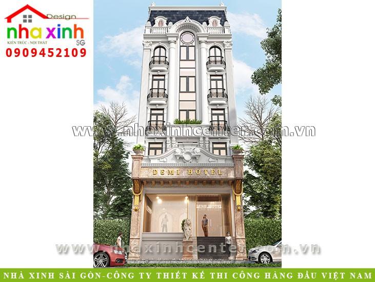 Top những mẫu thiết kế khách sạn mini đẹp