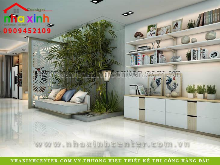 mẫu thiết kế nội thất đẹp cô huệ quận 2