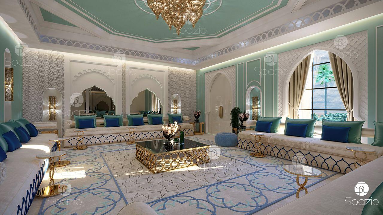 Thiết kế nội thất phong cách Moroccan hiện đại
