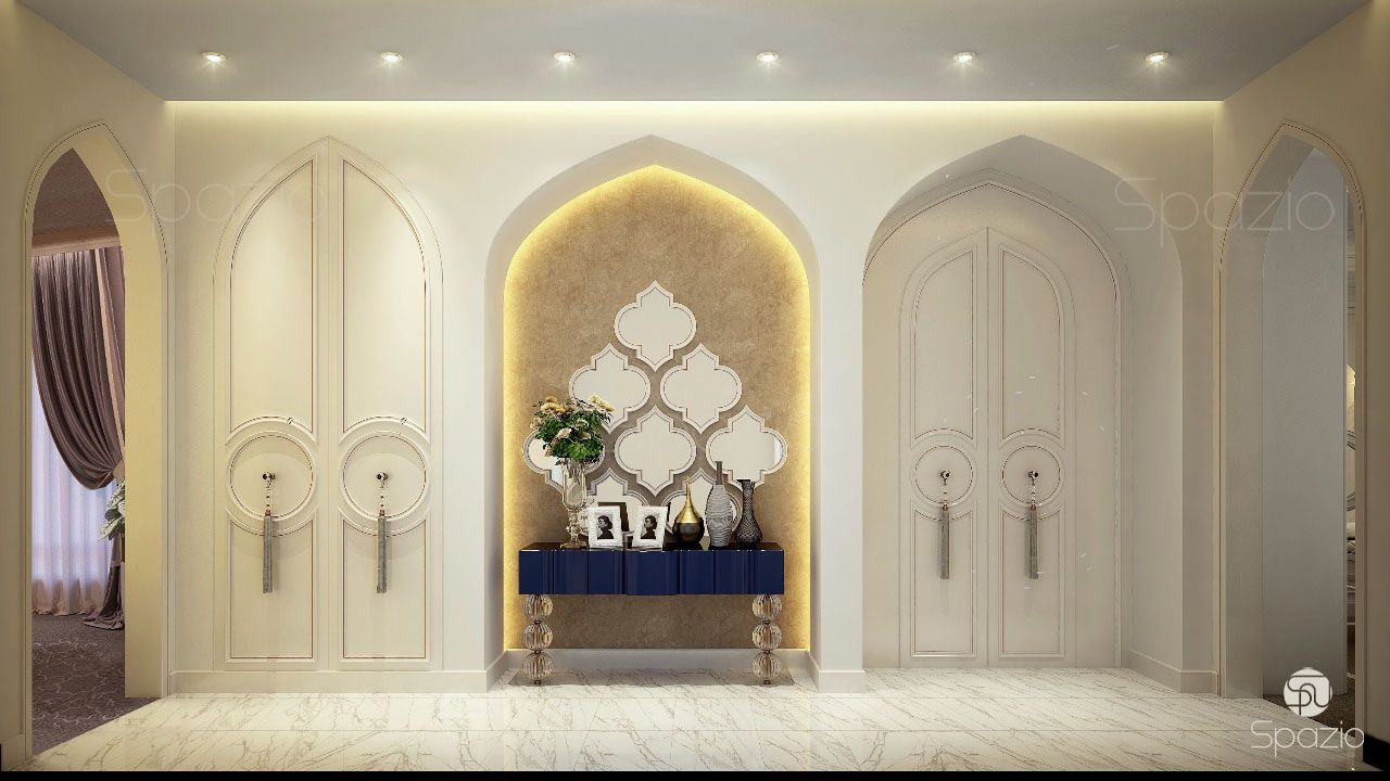 beautiful villa interior design in dubai spazio