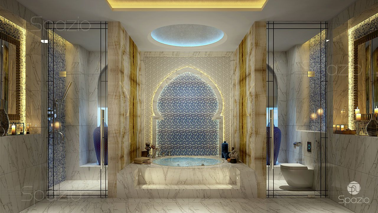 luxury interior design created by Spazio company dubai spazio