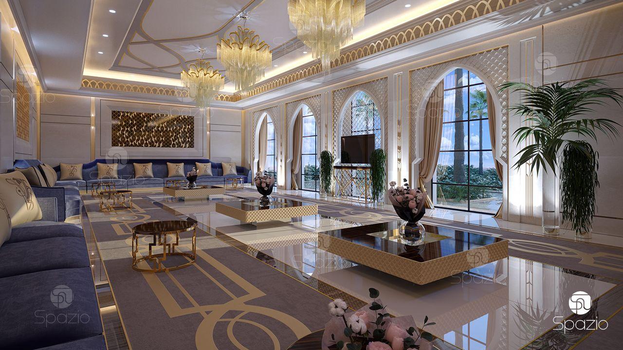 Moroccan majlis interior design