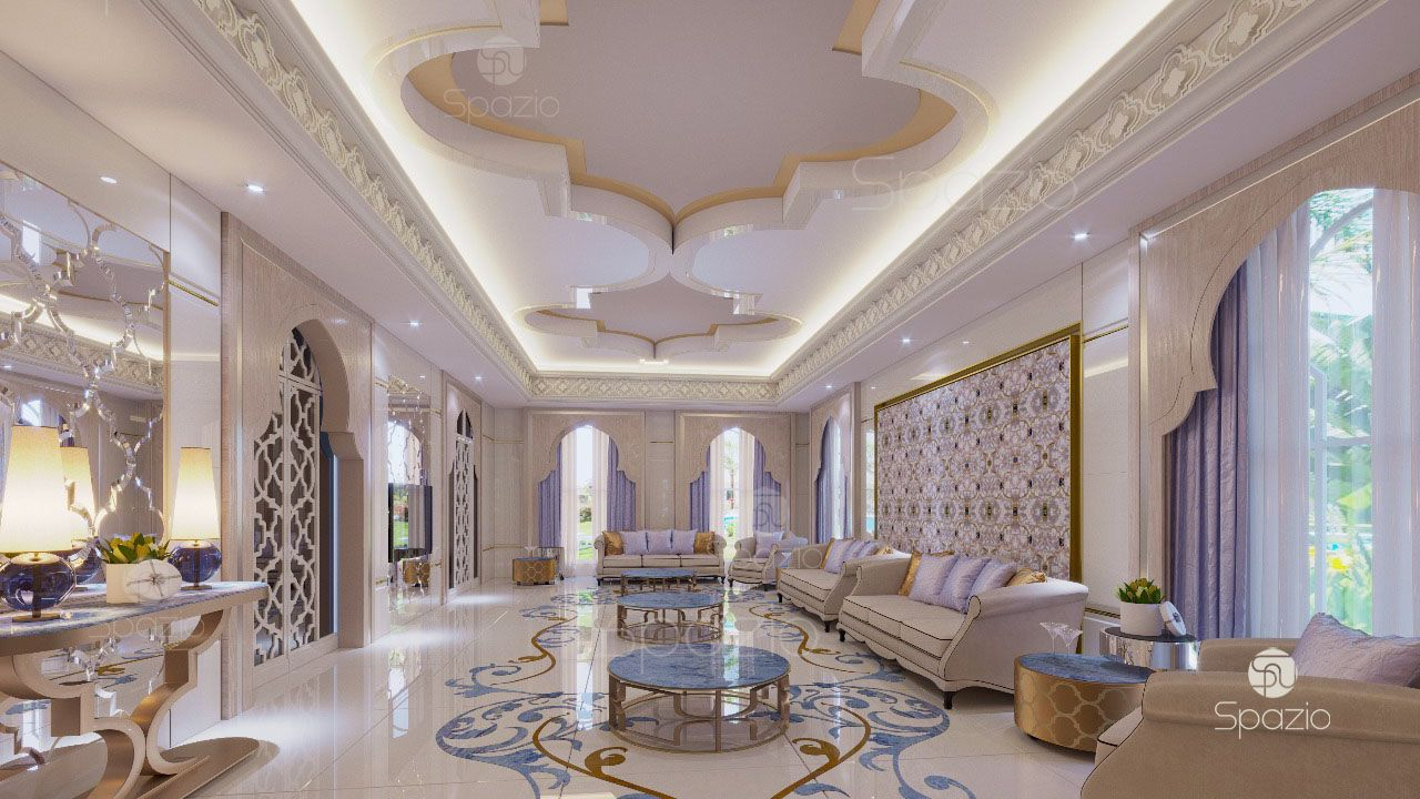 Thiết kế nội thất phong cách Ả Rập