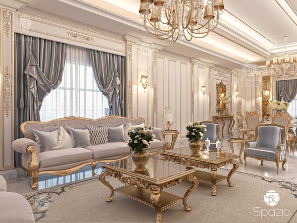 Classic sitting room interior design