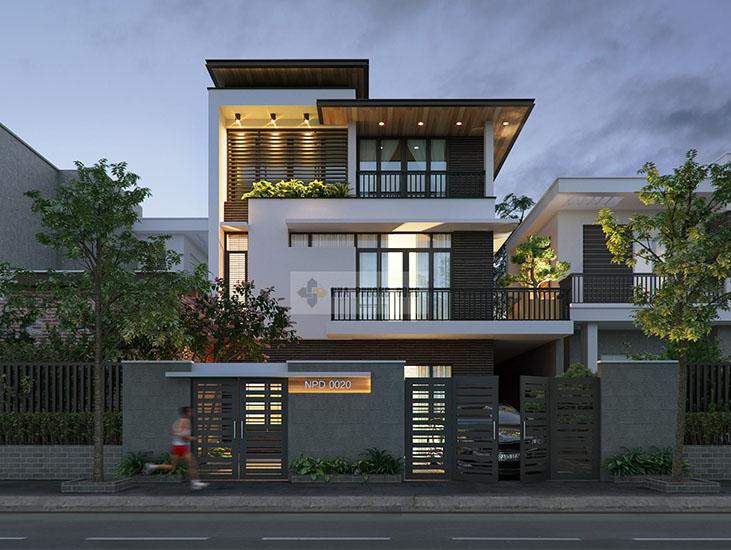 thiết kế nhà đẹp 3 tầng tốt nhất 2021