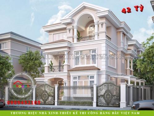 Nhà Xinh Biệt Thự Tân Cổ Điển Đẹp Chị Mỹ Hạnh Quận 7