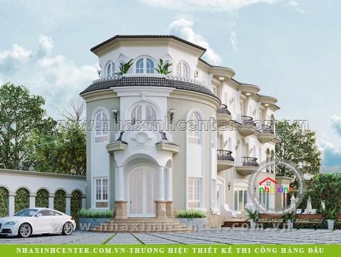 Biệt Thự Cổ Điển Sân Vườn Anh Giang