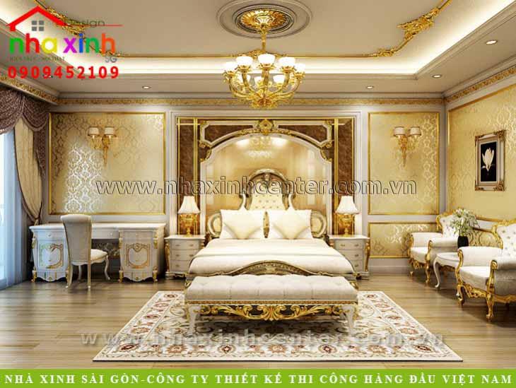 mẫu thiết kế nội thất phòng ngủ master đẹp 2021