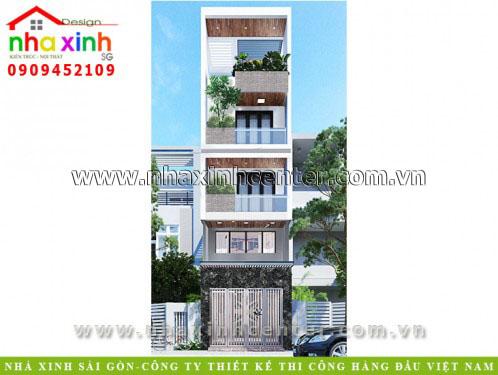 Top 10 Mẫu thiết kế nhà 4 tầng đẹp