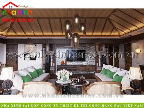 Mẫu Thiết Kế Nội Thất Resort 5 Sao
