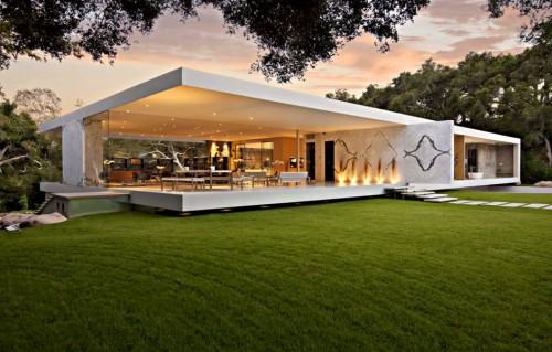 những mẫu thiết kế biệt thự hiện đại xu hướng 2021