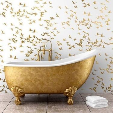 mẫu thiết kế bồn tắm đẹp phong cách scandinavian