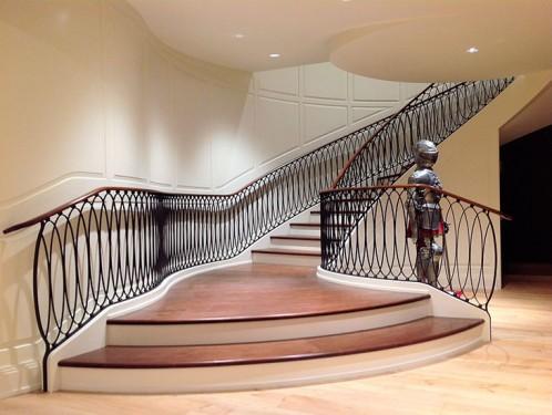 Những mẫu thiết kế cầu thang sắt đẹp