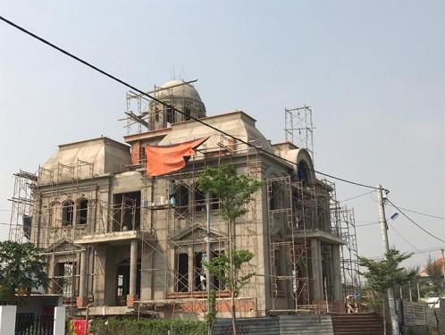 Đơn giá thiết kế thi công biệt thự cổ điển tân cổ điển