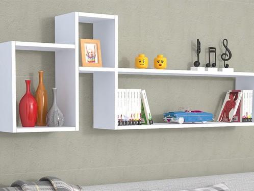 Tổng hợp những mẫu giá sách treo tường đẹp
