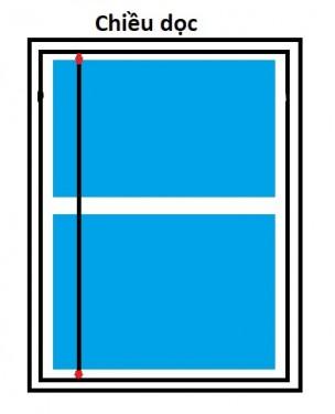 Kích thước cửa sổ hợp phong thủy