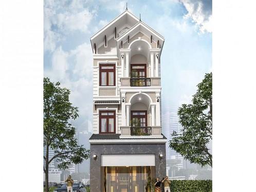 Tổng hợp mẫu nhà phố cổ điển đẹp