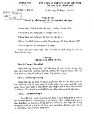 nghi-dinh-46-2015-ve-quan-ly-chat-luong-va-bao-tri-cong-trinh-xay-dung