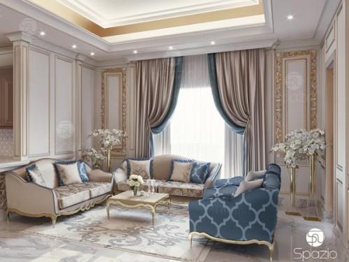 Thiết kế nội thất đẹp phong cách Baroque Italia