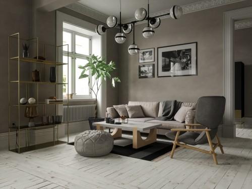 Phong cách nội thất scandinavian mang cảm giác mát mẻ