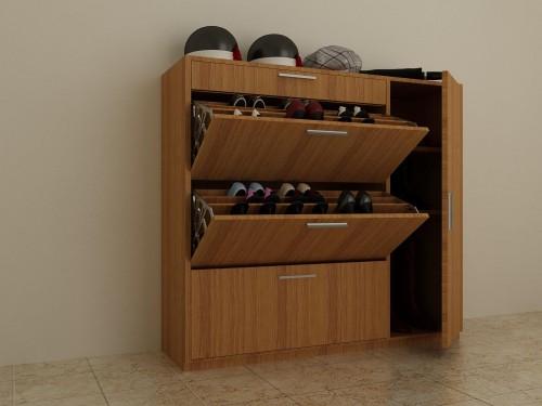 Những mẫu tủ đựng giày dép thiết kế đẹp phá cách